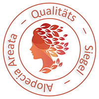 Alopecia Areata Qualitäts Siegel